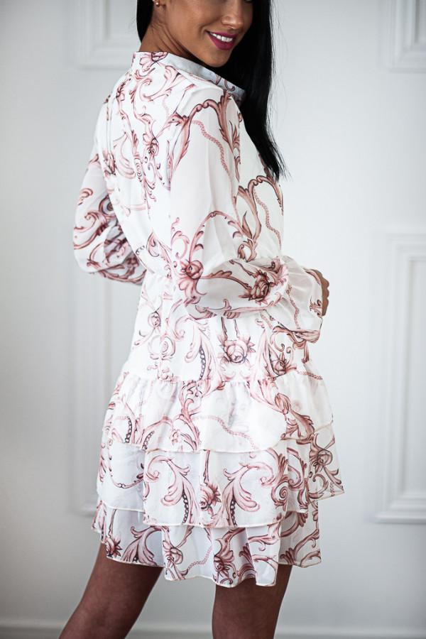 Sukienka WERLA WHITE 4