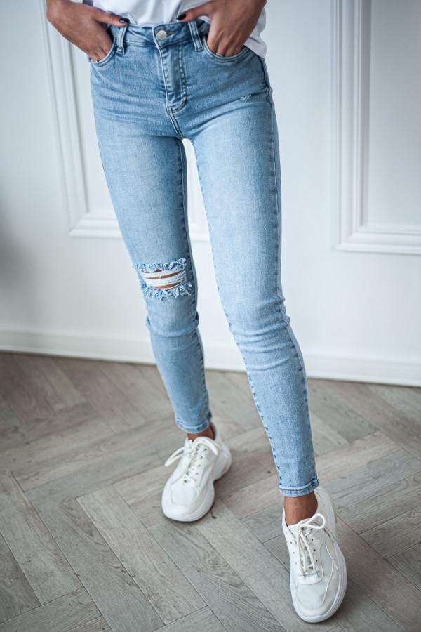 Spodnie jasne jeansowe Emma 4