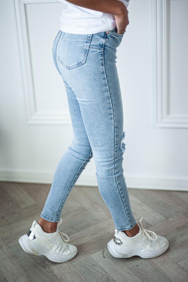 Spodnie jasne jeansowe Emma 6