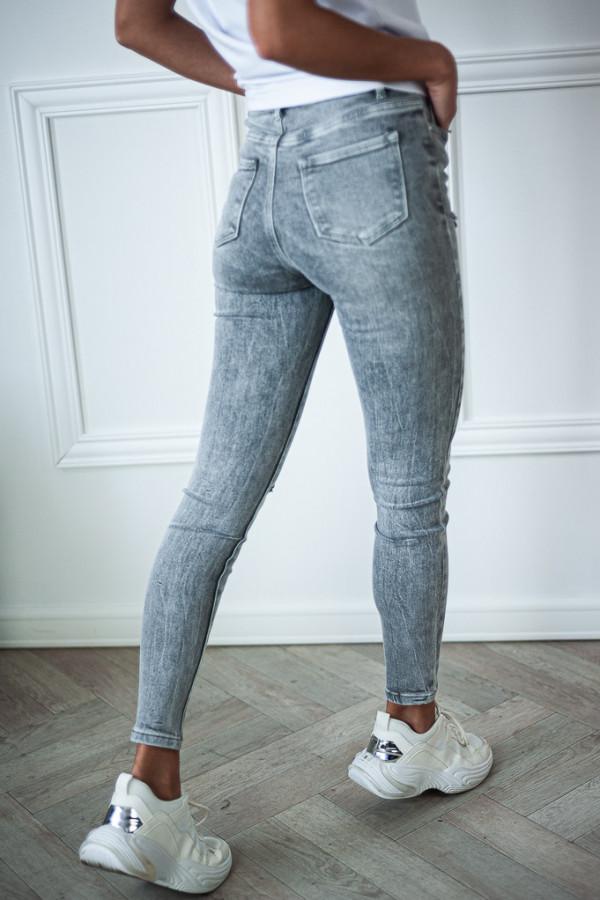 Spodnie jeansowe ciemne z dziurami Judy 2