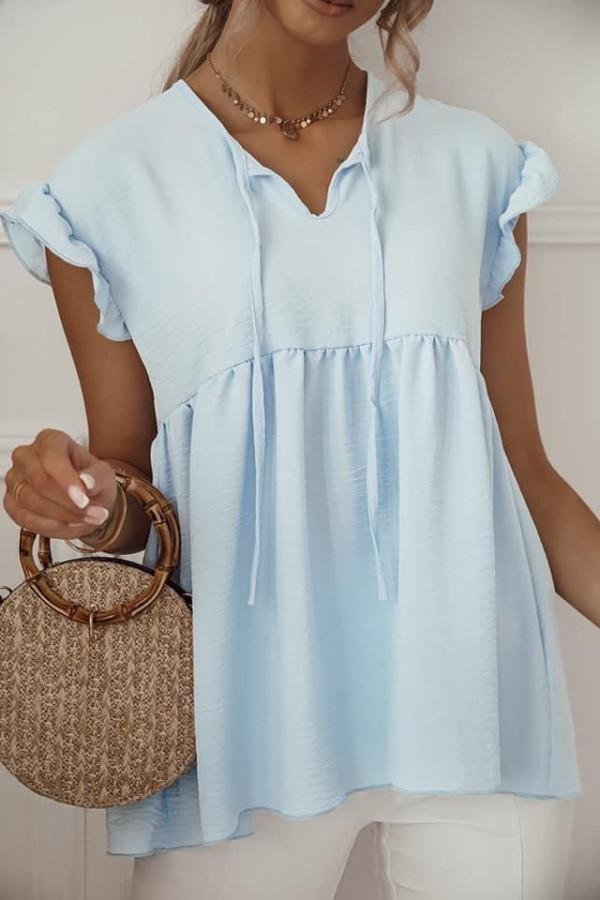 Błękitna bluzka Alicja