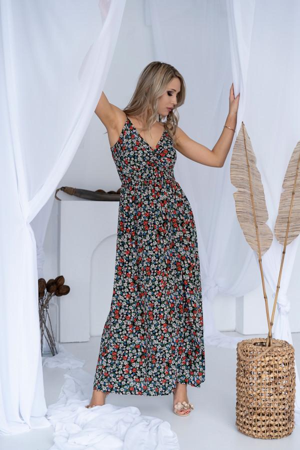 Sukienka ŁĄCZKA Miss Sara Slim BLACK 3