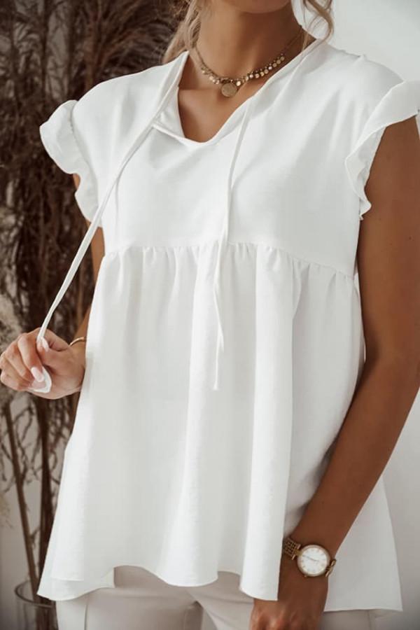 Biała bluzka Alicja 1