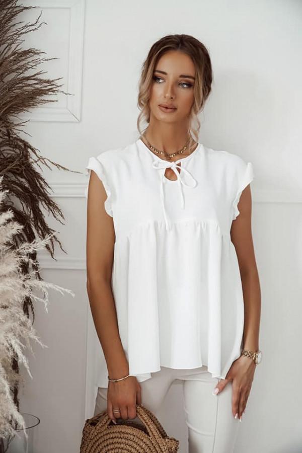 Biała bluzka Alicja 2