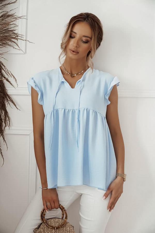 Błękitna bluzka Alicja 1