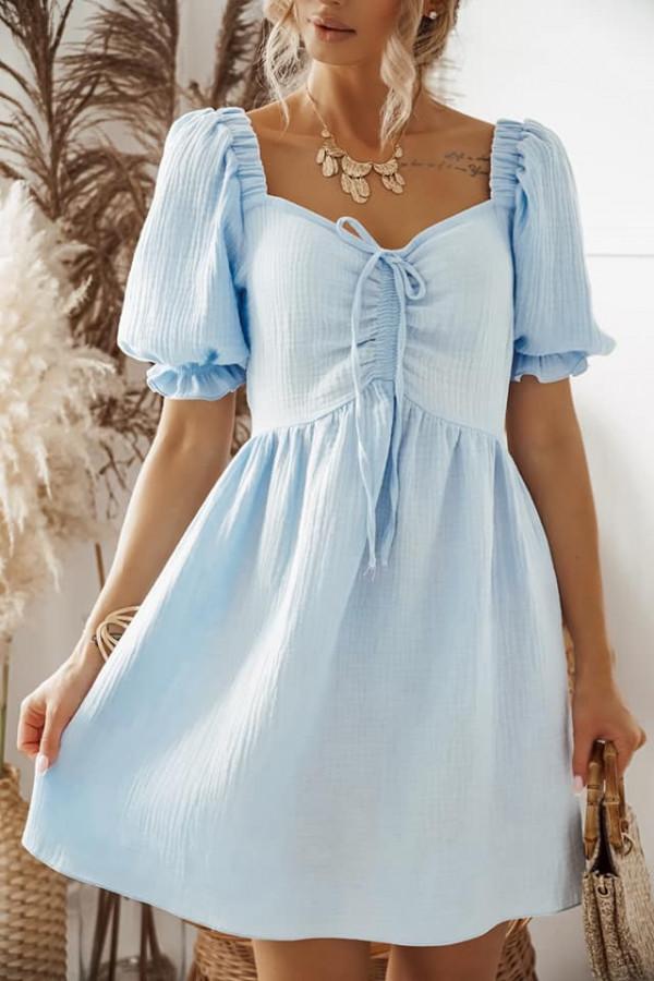 Błękitna sukienka Kaja 2
