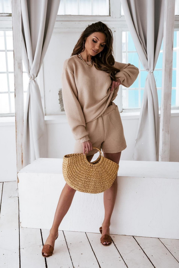Komplet sweterkowy