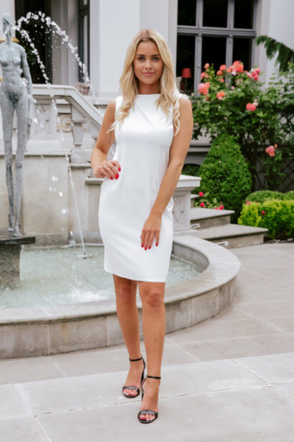 Sukienka keisha white 1