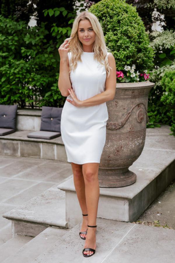 Sukienka keisha white 2