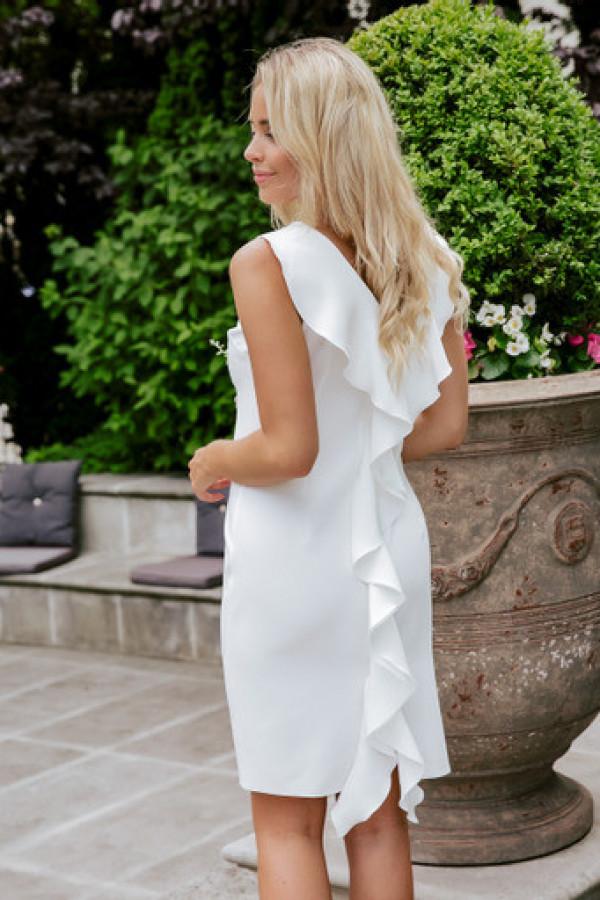 Sukienka keisha white 3