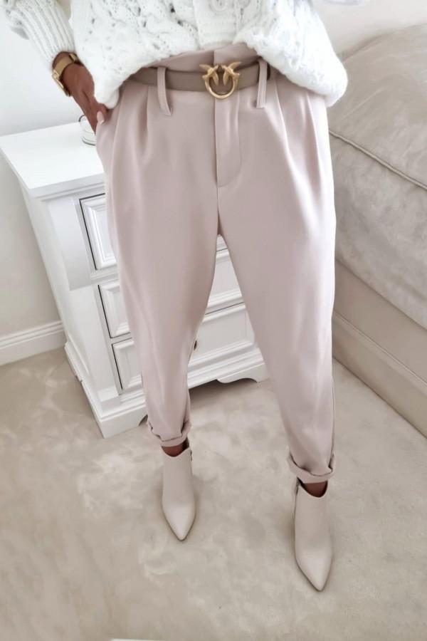 Spodnie ecru Daryna
