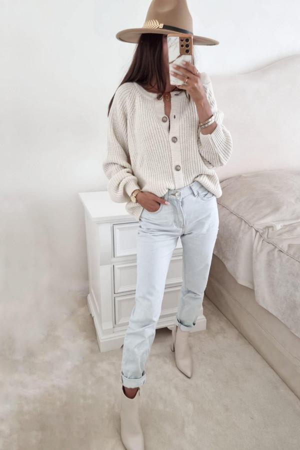 Sweter biały Julia 1
