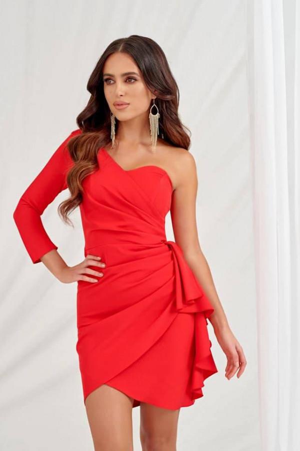 Sukienka Queeny - czerwony 2