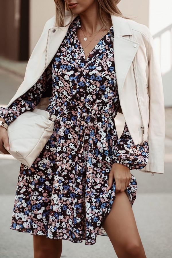 Kwiatowa sukienka Dalia