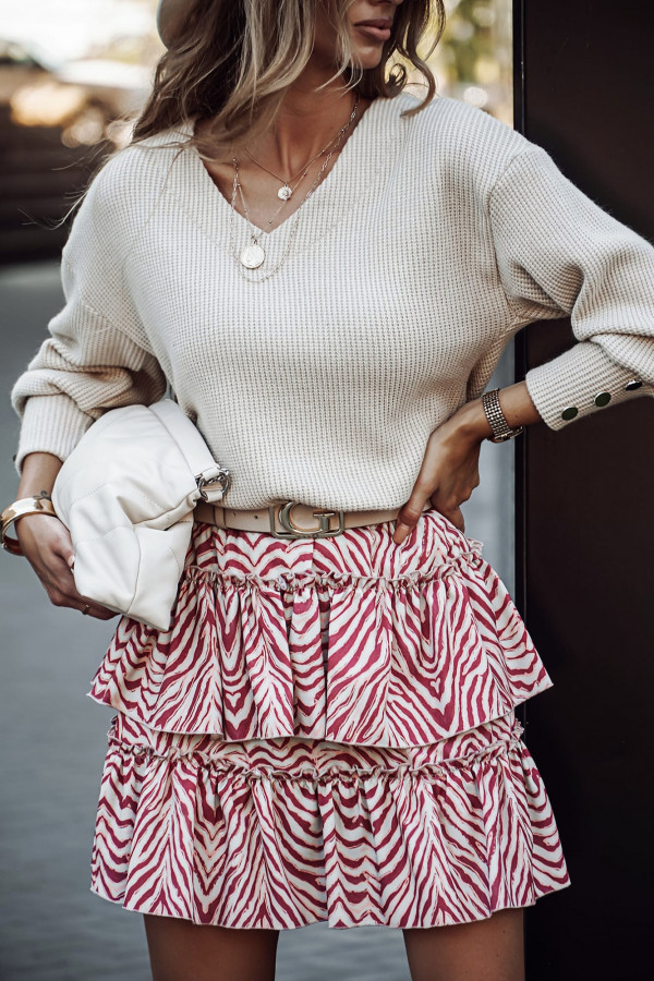 sweterek z ozdobnymi guzikami 2
