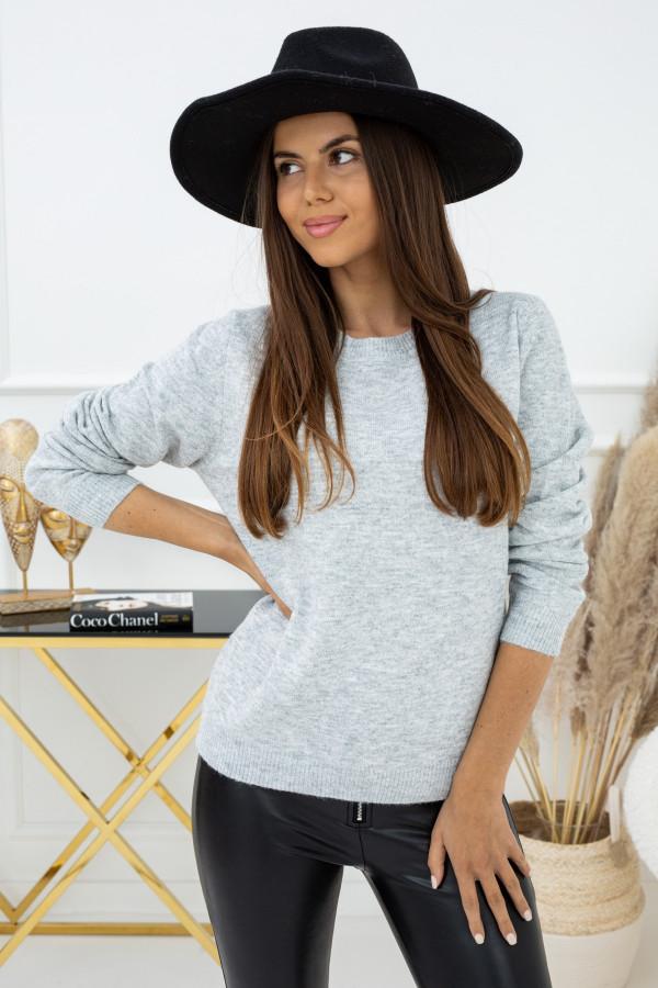 Sweter Indeks TP94198 SZARY