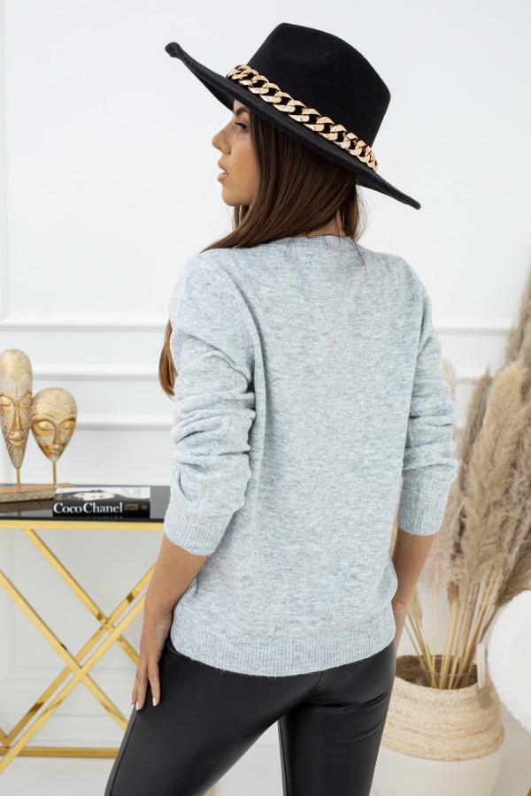 Sweter Indeks TP94198 SZARY 1