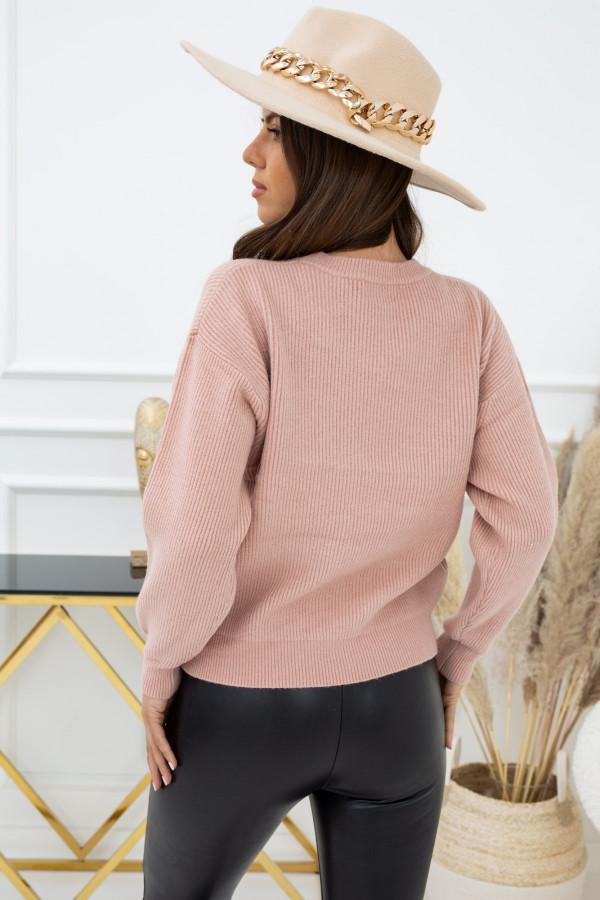 Sweter Indeks WJ94469a RÓŻ 1