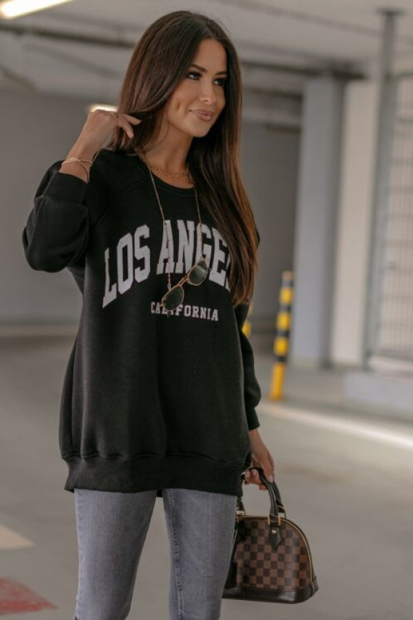 BLUZA LOS ANGELES CZARNA 2